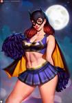Batgirl Cheerleader
