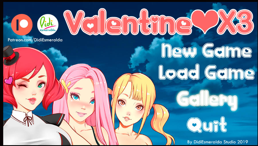 Visual Novel Game San Valentin by Didi-Esmeralda