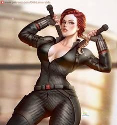 BlackWidow Avengers Endgame by Didi-Esmeralda