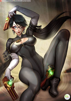 Bayonetta hair 2