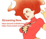 Streaming Now Picarto and Twitch