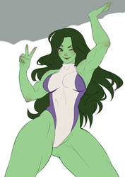 She Hulk WIP