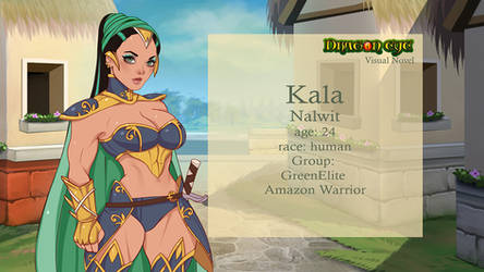 Visual Novel Dragon Eye Kala