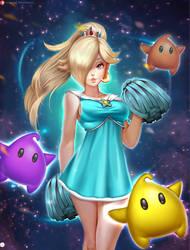 Rosalina Cheerleader VERSION2 by Didi-Esmeralda