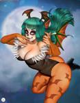 Halloween Morrigan Aensland