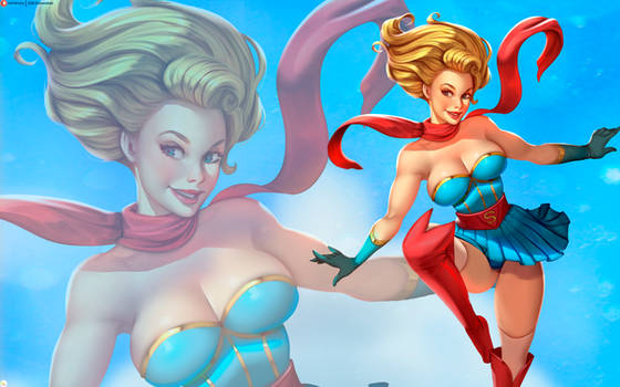 Wallpaper Supergirl