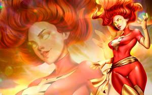 Wallpaper Phoenix