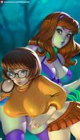 Daphne x Velma   Wallpaper
