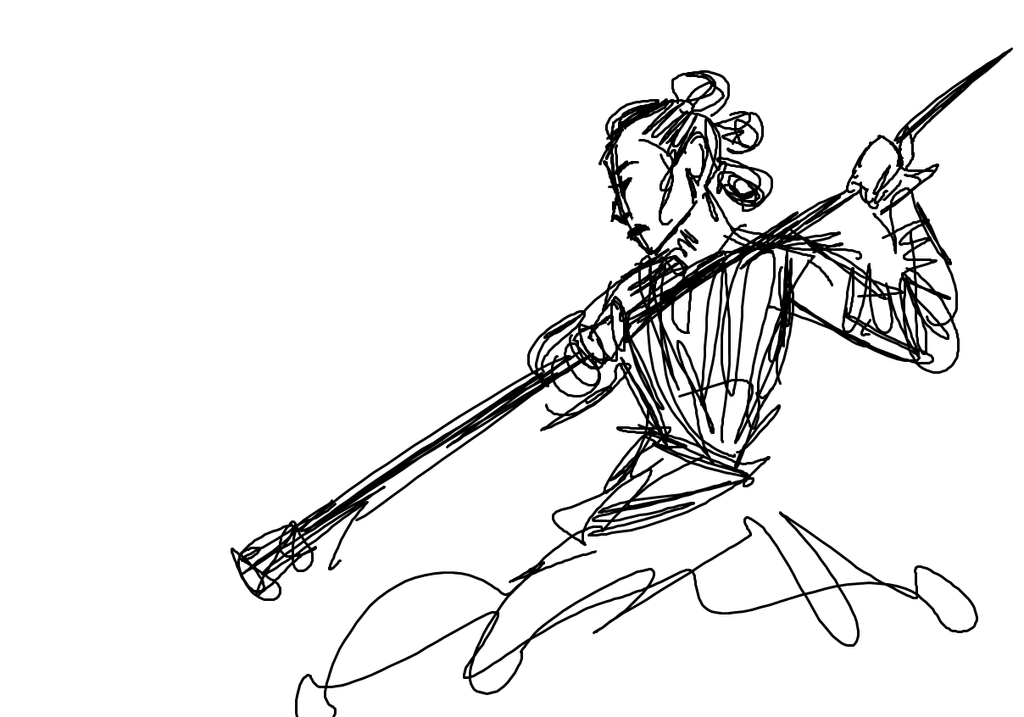 Messy Rey Sketch
