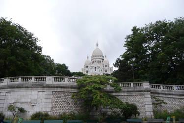 Sacre-Coeur de Montmartre by Acromatic