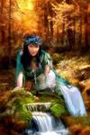 Forbidden Forest by Drezdany