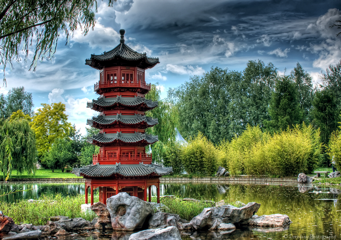 The chinese garden by drezdany on deviantart - How to create a chinese garden ...