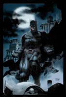 Jim Lee'S The Dark Knight by thosemortalmen