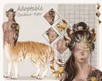 (OPEN) Centaur_Tiger (adopt auction) by ArtistTora