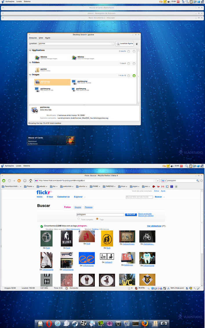 april desktop: nothing special by wesley-emw