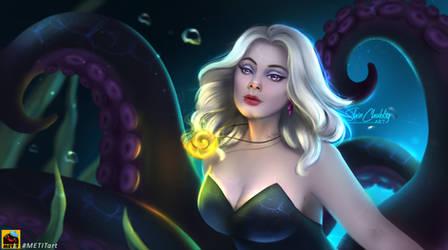 Adele as Ursula fanart - DISNEY VILLAINS by ShinChubby