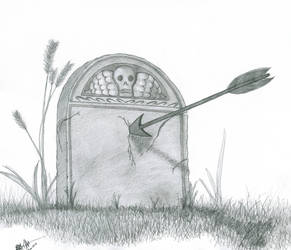 Grave Hunter by AsheEllwood