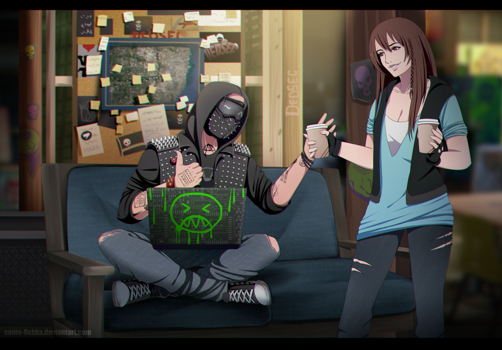 Watch Dogs 2 Wrench Fanart: [CM] Watch Dogs 2 By Sauto-0chka On DeviantArt
