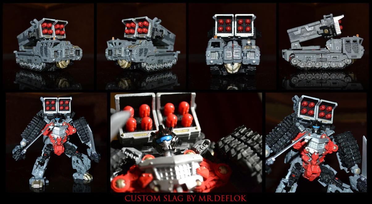 Custom Dinobot Slag by mrdeflok