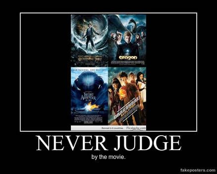 Demotivational Poster- Not the Movie