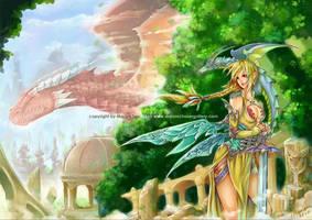 Dragonlore by bluemonika