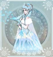 Ice queen by bluemonika