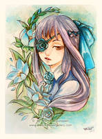 Blue Rose by bluemonika