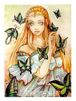 Sweet Butterfly by bluemonika