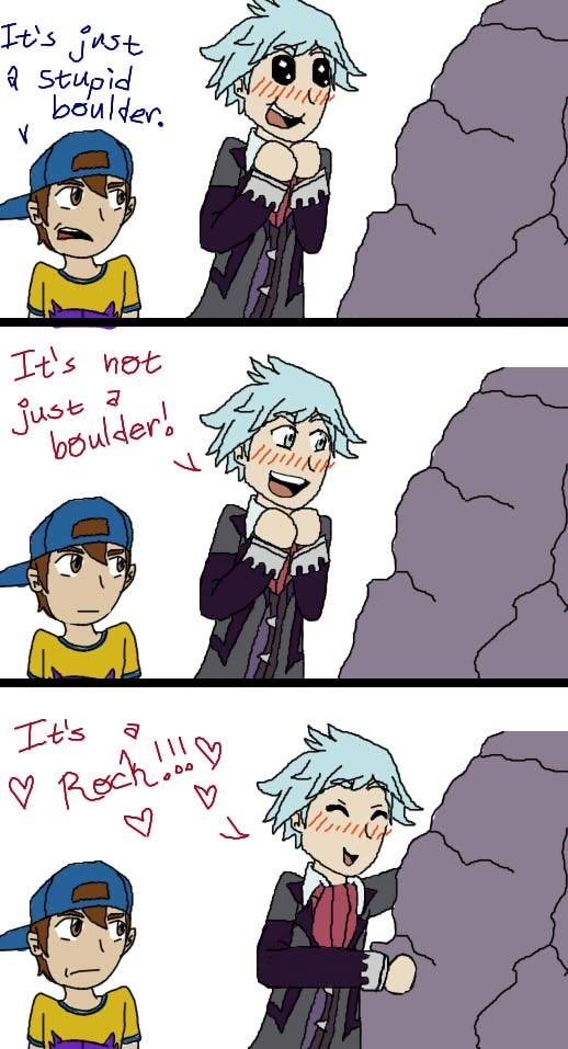 It's a Rock!! by pokemonpuppy1