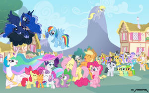 New Background Pony by 1992zepeda