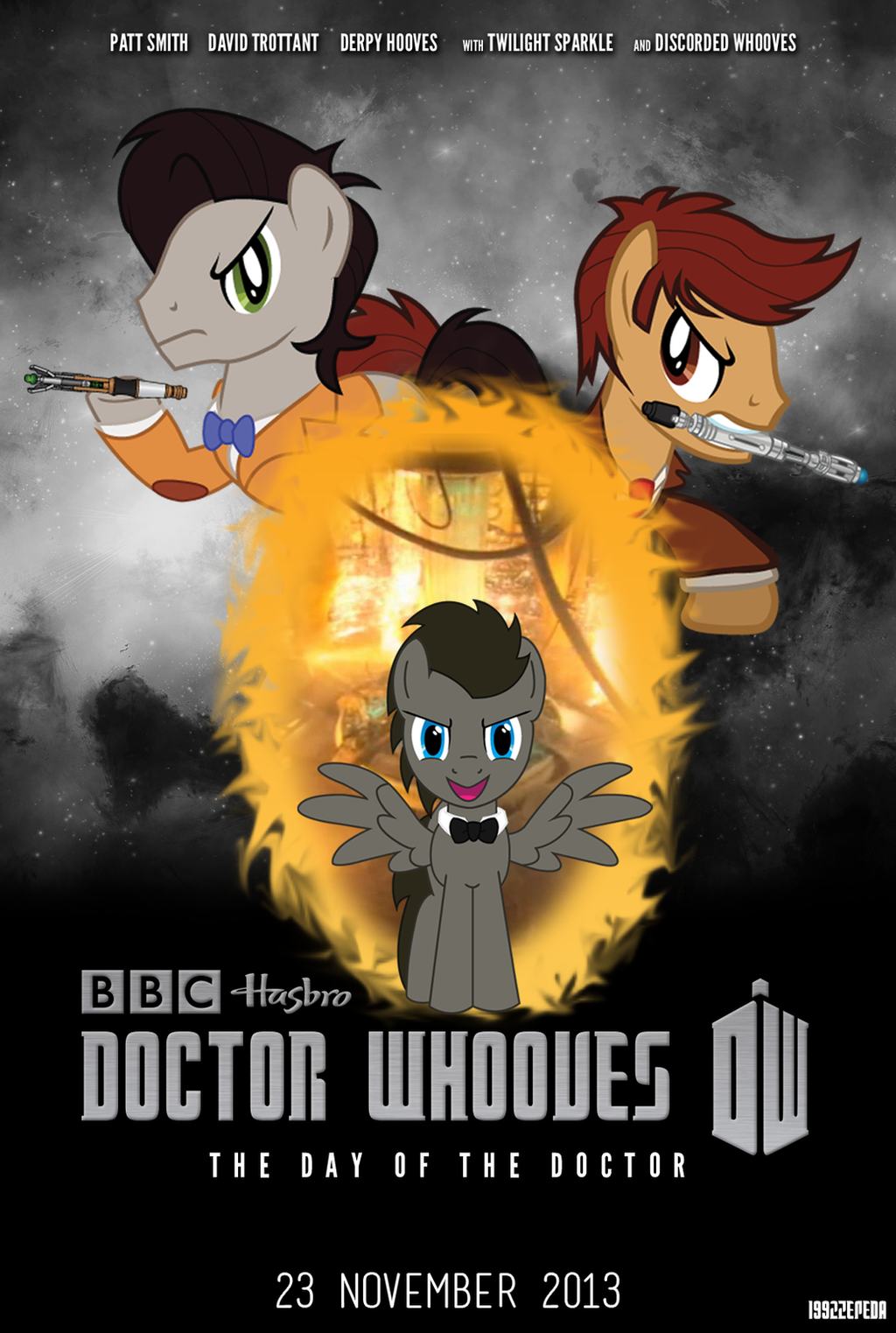 Doctor Whooves: The Day of the Doctor by 1992zepeda