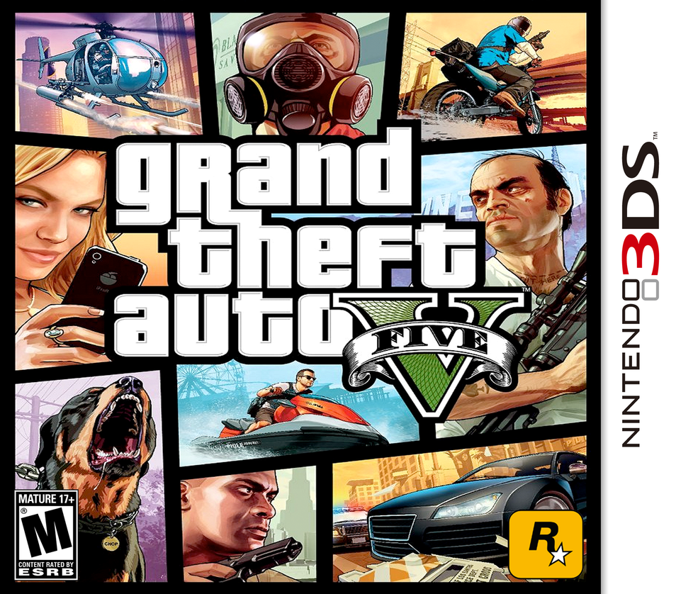 Grand Theft Auto V 3ds By 1992zepeda On Deviantart