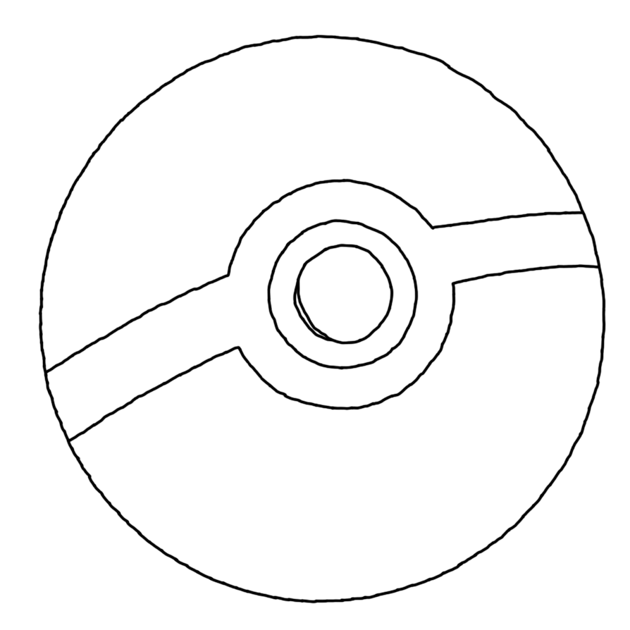 Uncategorized How To Draw Pokemon Ball pokeball mouse drawing by 1992zepeda on deviantart 1992zepeda