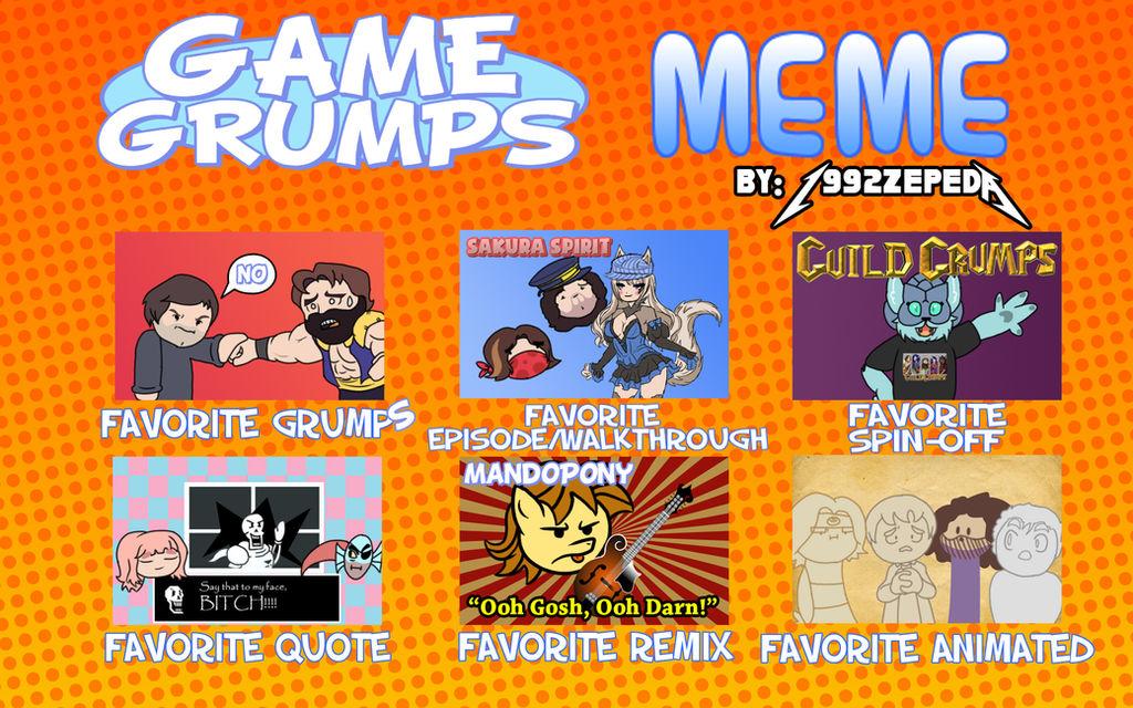 Game Grumps Meme By 1992zepeda On Deviantart