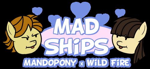 Mad Ships: Mandopony x Wild Fire by 1992zepeda