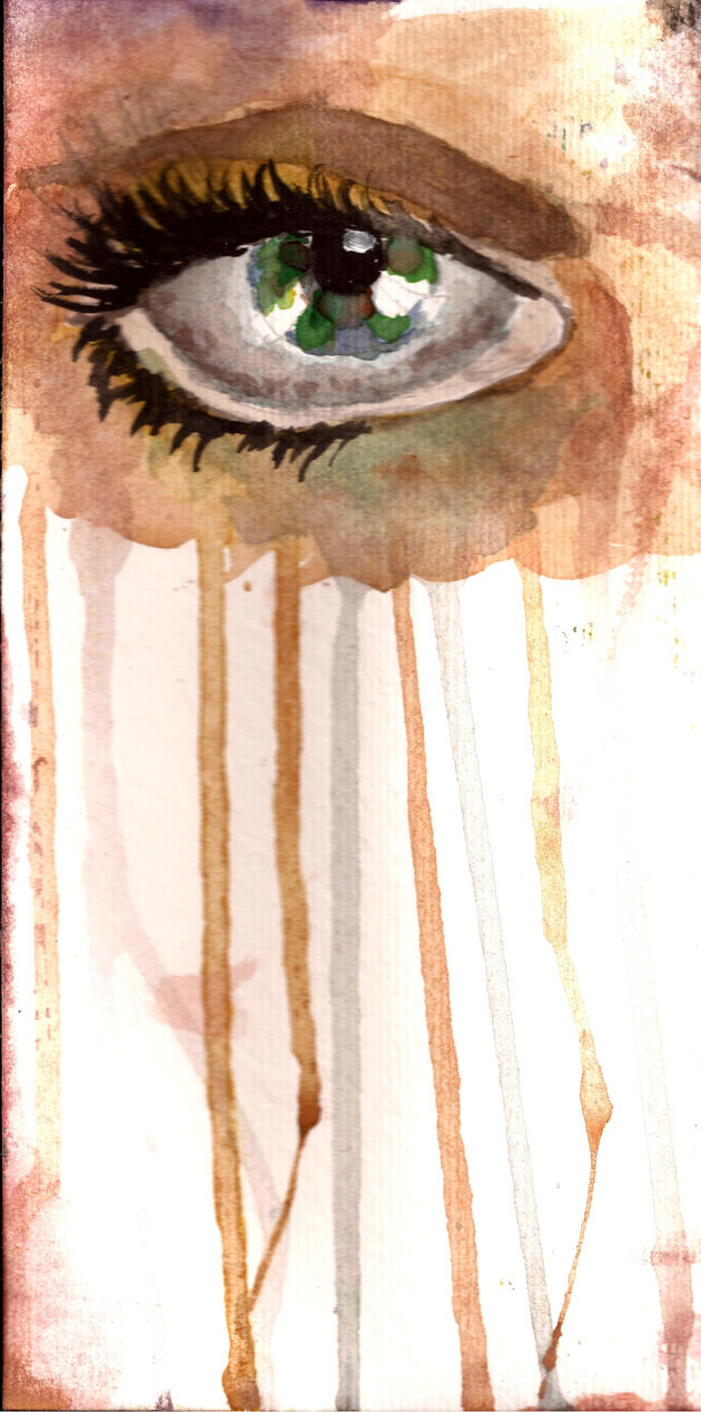 watercolor eye by kirei0