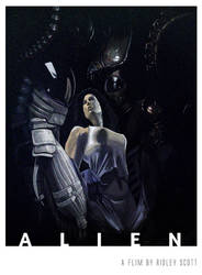 Alien by vangell