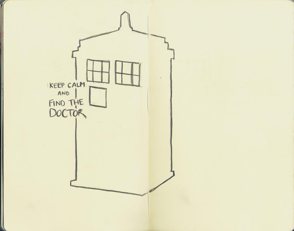 keep calm and find the doctor. by xXlittlebirdyXx
