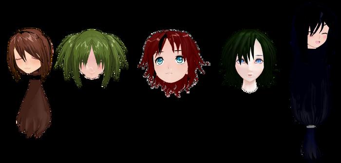 Hair Pack #3 DL