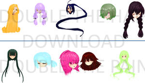 -20 WATCHERS GIFT- Hair Pack #4 DOWNLOAD