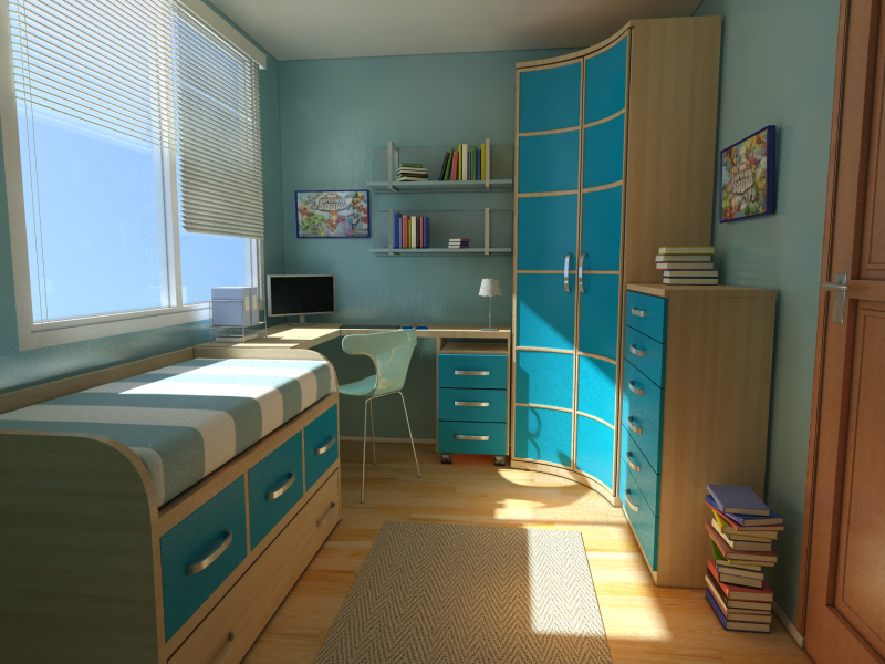 Kid's Room by GrandeMike