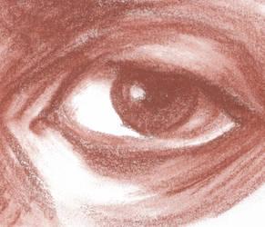 Self Portrait, Eye by robertsloan2