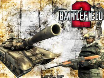 Battlefield 2 Game Wallpaper by AK-Productions