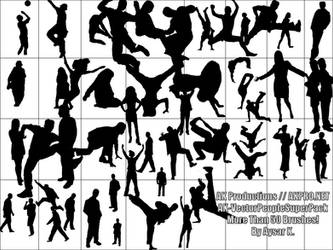 AK- VectorPeopleSUPERBrushPack by AK-Productions
