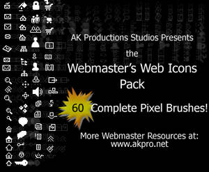 The Webmaster Web Icons Pack