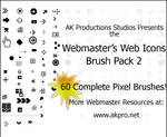Web Icons Brush Pack 2
