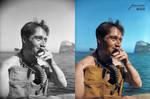 WW2 Lt Lionel Buster Kenneth Phillip Crabb, RNVR,