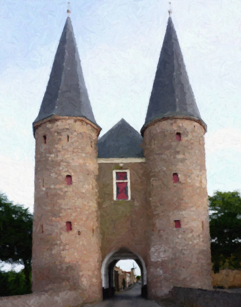 Gate Tower by WorldsEdge