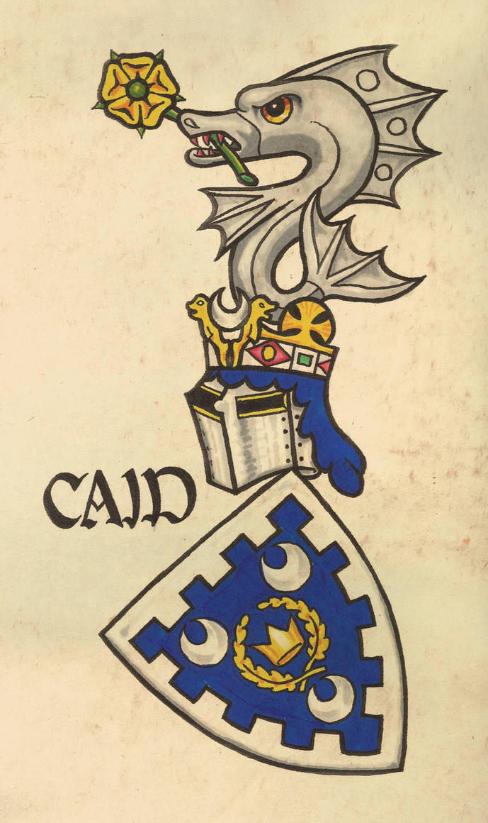 Caid Arms, Gelre Style by WorldsEdge
