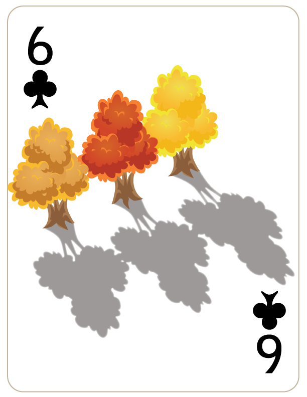 Six of Clubs by WorldsEdge